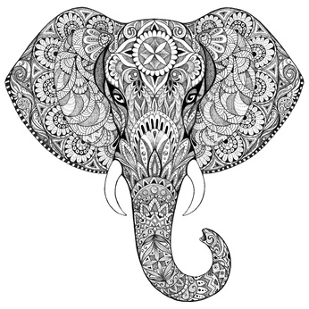 ornate elephanat