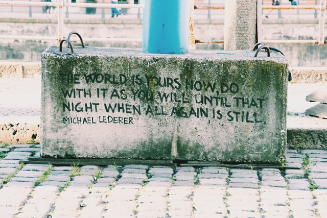 world is yours quote